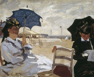 monet painting normandy