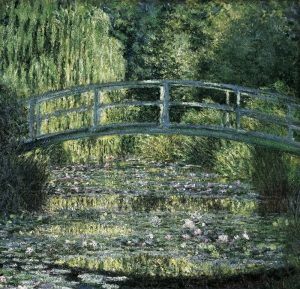 giverny normandy painting nympheas