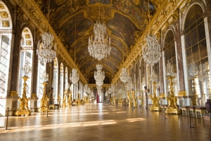 Day to to Versailles Castle, hall of Mirrors